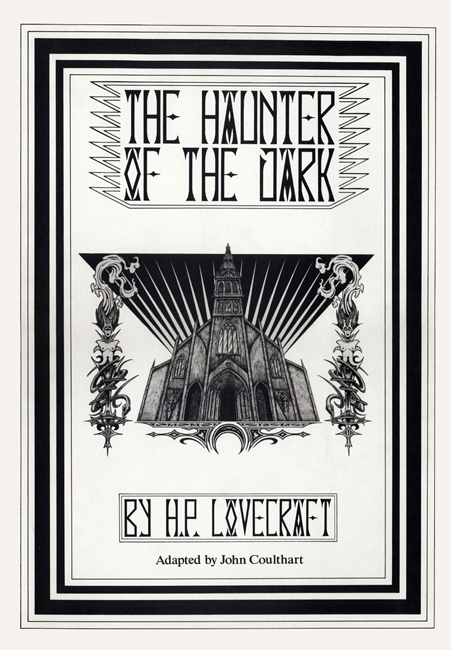 <b>  Coulthart, John — <I>The Haunter Of The Dark by H. P. Lovecraft</I></b>, Caermaen Books, 1988